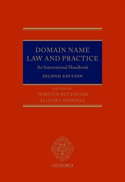 Domain Name Law and Practice Book